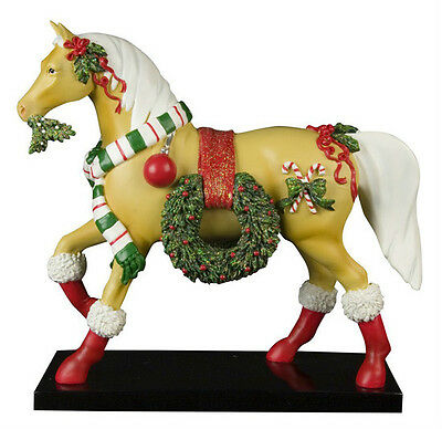 Trail of Painted Ponies CHRISTMAS PARADE PONY FIGURINE New, LOW 1st Edition
