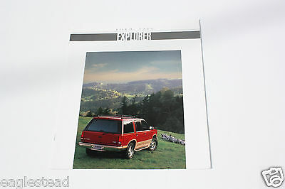 Auto Brochure - Ford - Explorer - 1994 (AB398)
