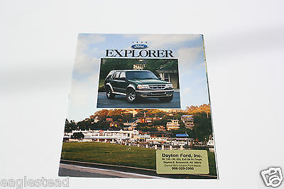 Auto Brochure - Ford - Explorer - 1996 (AB399)