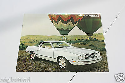 Auto Brochure - Ford - Mustang II - 1977 (AB400)