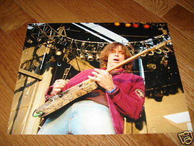 Ratt Warren DeMartini Live 8x10 Color Guitar Photo #2
