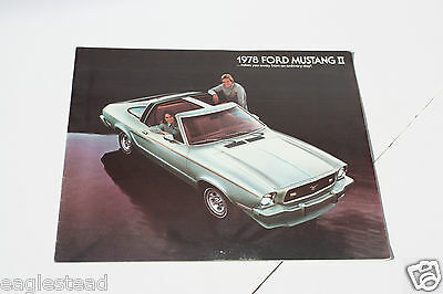 Auto Brochure - Ford - Mustang II - 1978 (AB401)