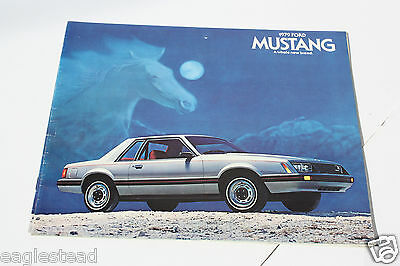 Auto Brochure - Ford - Mustang - 1979 (AB402)