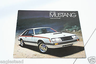 Auto Brochure - Ford - Mustang - 1980 (AB403)