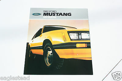 Auto Brochure - Ford - Mustang - 1982 (AB404)