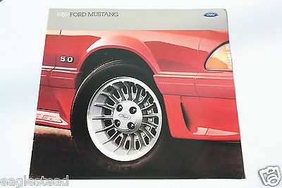 Auto Brochure - Ford - Mustang - 1989 - OS (AB409)