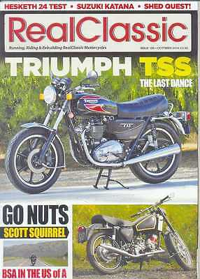 REAL CLASSIC No.126 / October 2014 (NEW) *Post included to UK/Europe/USA
