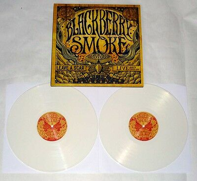 "Blackberry Smoke ""Leave A Scar - Live In North Carolina"" 2x12"" WHITE VINYL"