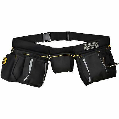 Stanley Multi Pocket Tool Belt Apron Hammer Loop Nail Pouch Measure Holder