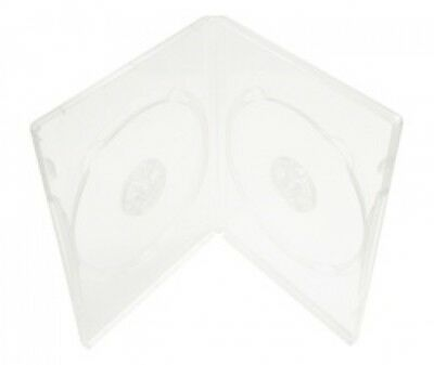 10 STANDARD Super Clear Double DVD Cases