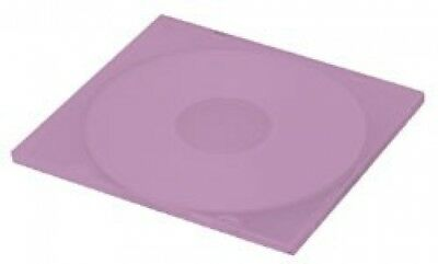 (SAMPLE) - 1 SLIM Purple Color Single VCD PP Poly Cases 5MM