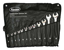 Kamasa 55993 Spanner Set 12pc In A Tube