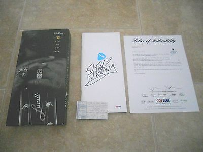 BB King Of The Blues 4 CD Box Set Signed Autographed Book Booklet PSA Certified