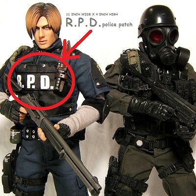 "WORLD WAR ""Z"" RESIDENT EVIL ZOMBIE RACCOON CITY POLICE VEST burdock SSI: R.P.D."