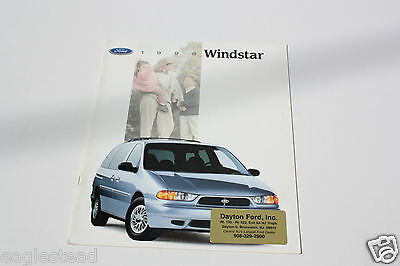 Auto Brochure - Ford - Windstar - 1998 (AB412)