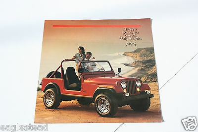 Auto Brochure - AMC - Jeep CJ - 1986 - OS (AB416)