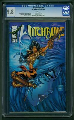 Witchblade #9 (1996) CGC Graded 9.8 ~ Michael Turner Cover