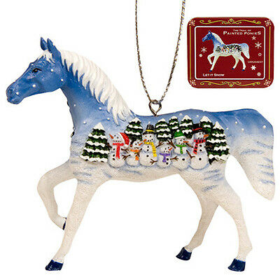 Trail of Painted Ponies LET IT SNOW PONY ORNAMENT Retired!