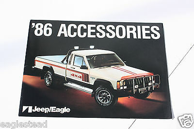 Auto Brochure - AMC - Jeep - Eagle - Accessories - 1986 (AB419)