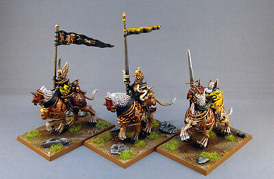 Warhammer Age Of Sigmar The Empire Demigryph Knights Painted