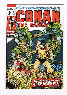 Conan # 8  The Keepers of the Crypt grade 7.5 super scarce hot book !!