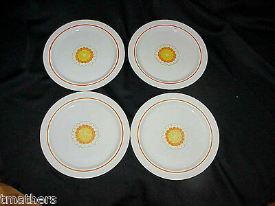 Set of 4 Georges Briard Boutique Dinner Plates