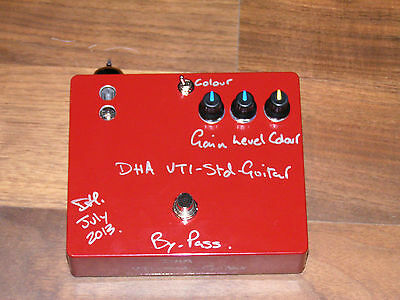 DHA VT1-Std Valve/tube overdrive distortion for Electric Guitar