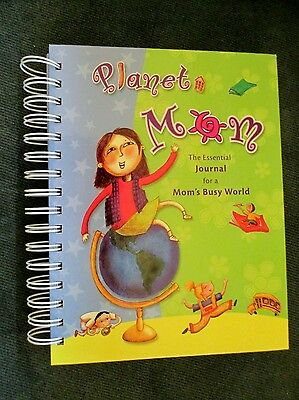 Planet Mom The Essential Journal for a Mom's Busy World 6 Helpful Sections:)