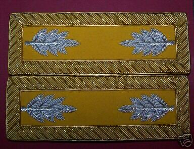 US Civil War Straps Union Army Staff Major Cavalry Officer Rank Insignia Boards