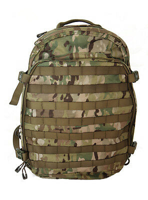 Military Tactical Hunting Travel MultiCam ATACS FG AU Camo 3 Day Backpack Pack