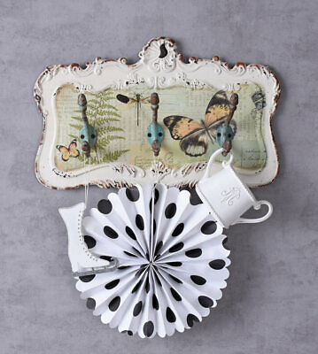 Shabby Chic Clothes Hook Bar Towel Holder In The Country House Style