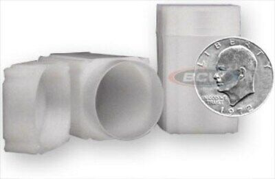 10 Coin Safe Square Coin Tubes - Ike / Morgan / Large Silver Dollar protectors
