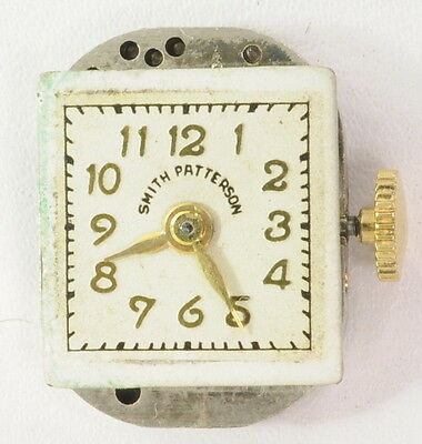 Smith Patterson Avalon EQM Mechanical Wrist Watch Movement Dial and Crystal