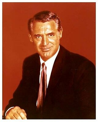 CARY GRANT great color portrait still - (f087)