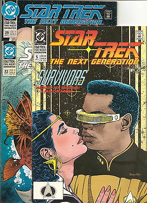 DC Comics  Star Trek TNG  Lot of 6  #  5, 23, 29, 44, 45, 50