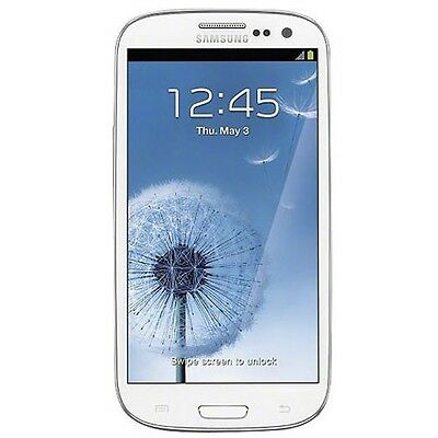 Samsung Galaxy S III SPH-L710 - 16GB - Marble White (Sprint) Smartphone (B)