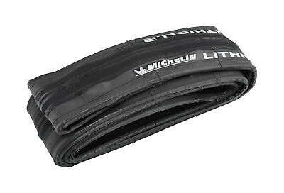 Michelin Lithion 2 Road Bike Tyre Folding 700 x 25 Dark Grey