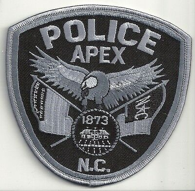 Apex Police North Carolina subdued patch
