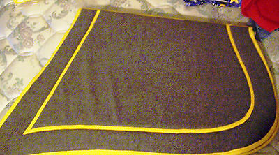 War Confederate Cavalry Military Shabraque Horse Soldier Saddle Pad Blanket CSA