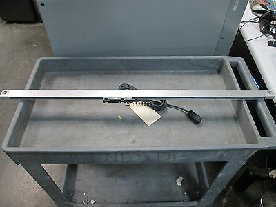 Heidenhain AE LS 406 Linear Scale, 820mm Travel, 1µm Resolution w/Cable