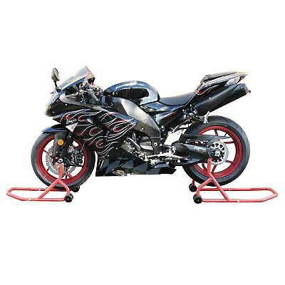 Bike-It Front & Rear Motorcycle / Bike Paddock Stands / Stand Set / Pair