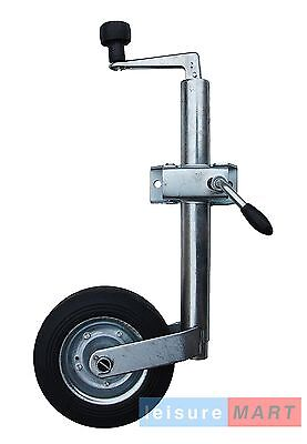 42mm Medium duty jockey wheel & clamp trailer caravan