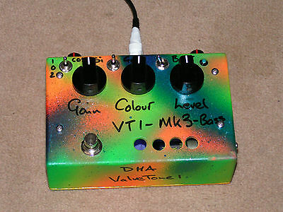 DHA VT1 MK3-Bass overdrive and distortion pedal