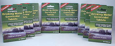 8 Packs Of Water Purification Tablets-Drinkable Water In 30 Minutes! 400 Tabs 8
