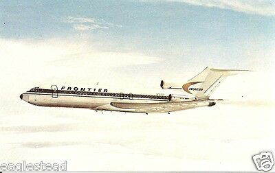 Airline Postcard - Frontier - B727 191 - N7270F (P3600)