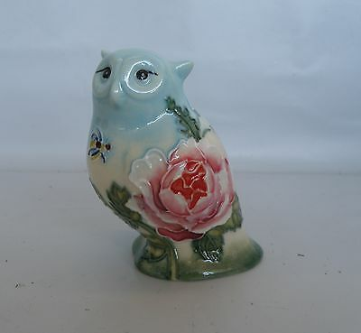 Old Tupton Flower Garden Owl Figurine * New in Box *