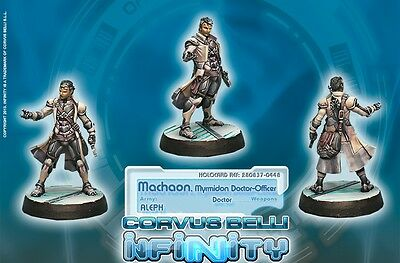 Infinity BNIB Aleph - Machaon, Myrmidon Doctor-Officer 280837