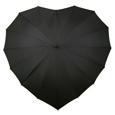 Heart Umbrella - Black