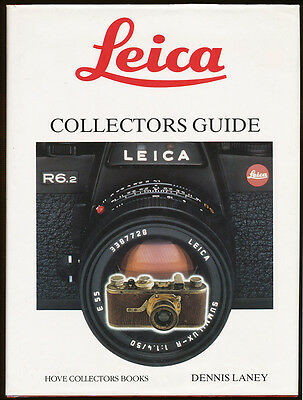 """Dennis Laney libro """"Leica collectors guide"""" 1992 in inglese D508"""