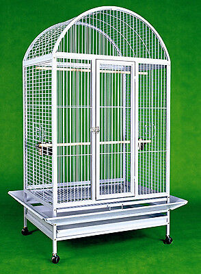 "Large Bird Cage Parrot Cages Macaw Dometop 36""x26""x65"" African Grey Cockatoo"